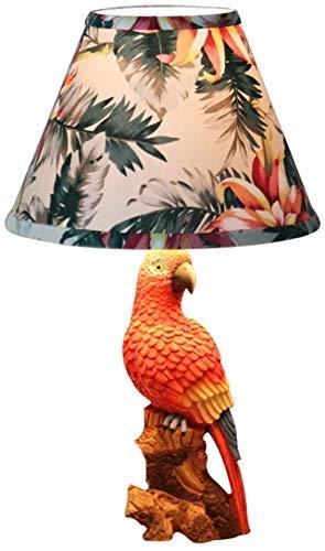 HKAFD Lámpara de Mesa de pájaro de Parrot/Lámpara de Mesa para niños Lámpara de Noche de Noche de Dibujos Animados Boy Chica Habitación Decoración Regalo