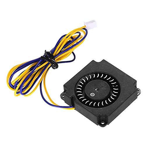 Gazechimp 40 40 10 Mm 4010 Ventilador de Refrigeración Sin Escobillas 24 V CC con Rodamiento de Bolas de 2 Pines para CR-8S Ender 3 - Impermeable, a Prueba de P