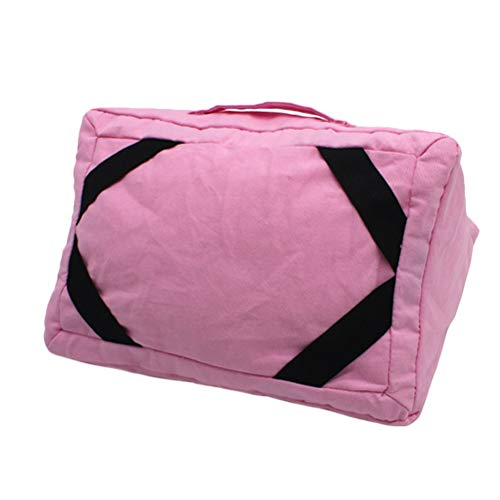 DOITOOL Pillow-Practical Tablet Pillow Soft Tablet Pillow Stand Holder Creative Cushion Pillow Stand Holder Compatible For Ipad (Deep Pink)