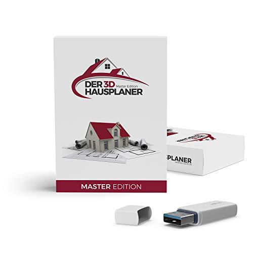Der 3D Hausplaner Master Edition - 3D CAD Software - planen Sie Ihr neues Zuhause einfach, maßgenau und professionell - der Architektur- & Hausplaner mit Grundrissen und 3D Visualisierung