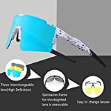 Zoom IMG-2 duduking occhiali ciclismo polarizzati con