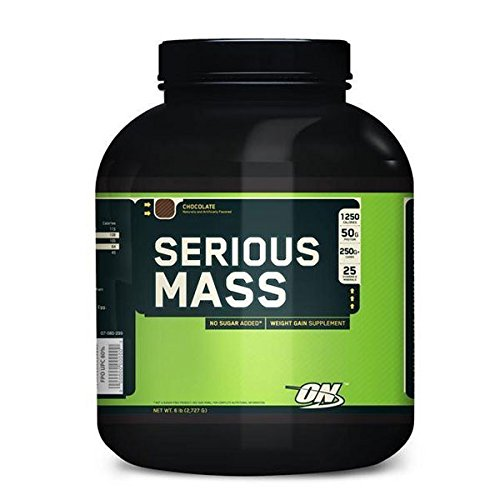 Optimum nutrition Serious Mass - 2,7 kg Fresa