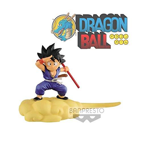 Dragon Ball Z Goku Kid Nuage Magique Tenue Bleue 13 cm