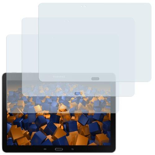 mumbi Schutzfolie kompatibel mit Samsung Galaxy Note 10.1 Wi-Fi Folie klar, Bildschirmschutzfolie (3X)