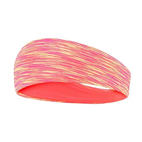 PPLAX Yoga Stirnband PC Anti-Sweat-Gürtel Damen Elastische Sport Haarband Yoga Haarband Headwear Headwear Sport Haarschmuck Sicherheitsgurt (Color : P)