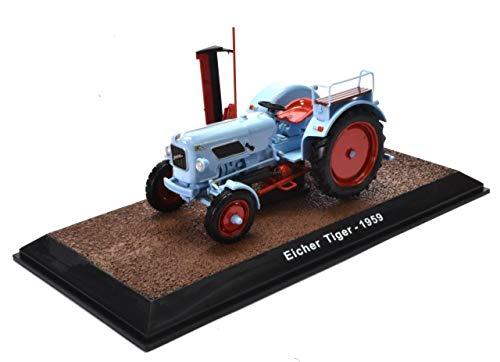 IXO/ALTAYA/ATLAS Eicher Tiger 1959 Traktor Landmaschine Schlepper Fertigmodell Maßstab 1:32