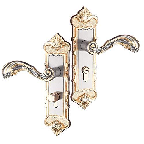 LIFF Manija de la Puerta de la Palanca de Entrada con Tres Llaves para la Oficina o la Puerta Principal