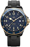 Combat Mens Analog Automatic Watch with Silicone Bracelet GL0280