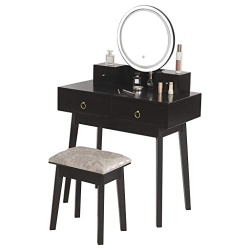 (50% OFF) Vanity Set With Touch Screen Dimming Mirror $192.99 – Coupon Code
