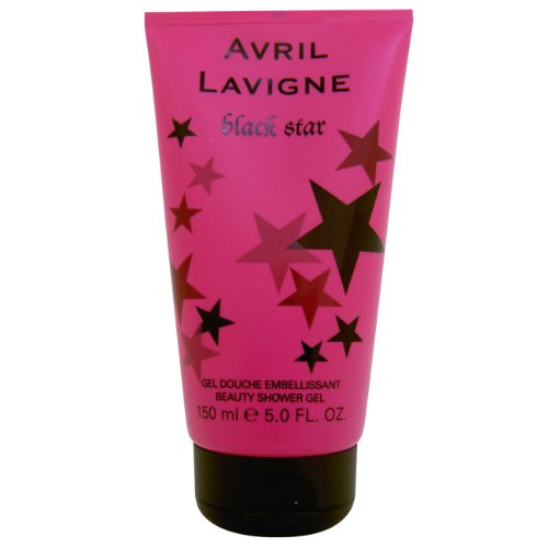 Avril Lavigne Black Star Women Shower Gel 150ml, 1er Pack (1 x 150 ml)