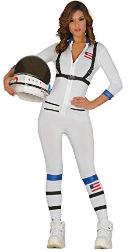 Guirca- Disfraz adulta astronauta, Talla 36-40 (84947.0)