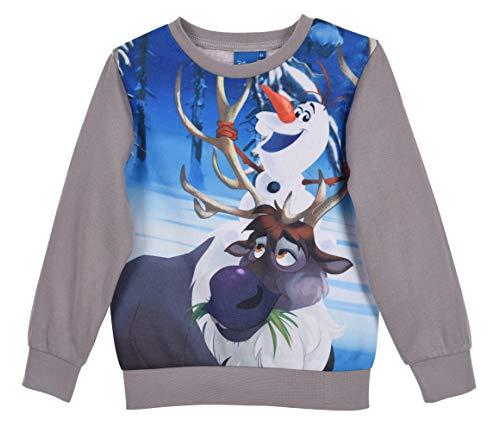 Disney Frozen Kinder Sweatshirt Olaf Gr. 20, grau