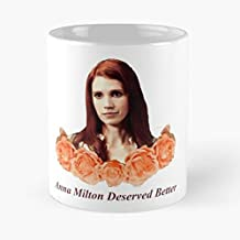 Anna Milton Julie Mcniven Supernatural Ladies - Funny Gifts For Men And Women Gift Coffee Mug Tea Cup White 11 Oz.the Best Holidays.