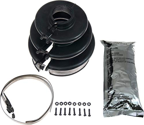 APDTY 14719 C.V. Joint Bolted Split Boot Outer Kit Fits Select 1983-1997 Models (Match Vehicle To Compatability Chart To Ensure Exact Fitment)