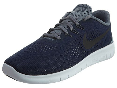 Nike Free RN GS Running Shoes Current Collection 2016, EU Shoe Size:EUR 37.5, Color:Blue Blau