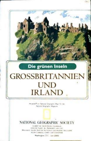 Grossbritanien und Irland - Die grünen Inseln mit Stadtkarte von London (Stadt-/Landkarte)