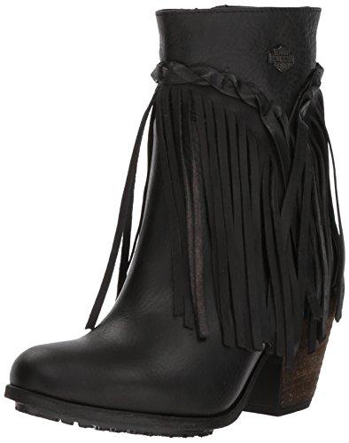 HARLEY-DAVIDSON FOOTWEAR Women's Retta Fashion Boot, Black, 5.5 Medium US