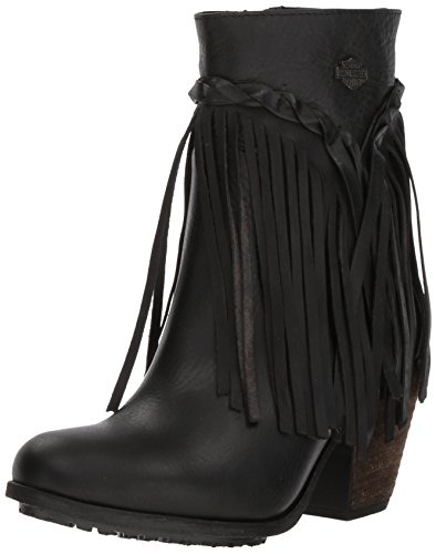 HARLEY-DAVIDSON FOOTWEAR Women's Retta Fashion Boot, Black, 6.5 Medium US