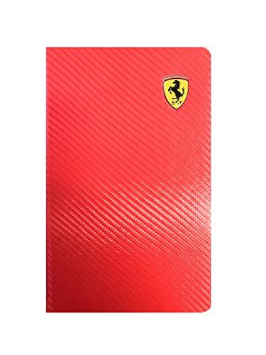 Ferrari - Agenda diaria 2020, 12 meses, color rojo, tamaño grande, 13 x 21 cm