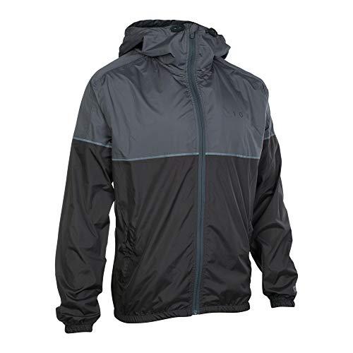 Ion Shelter Rain Fahrrad Regenjacke grau/schwarz 2021: Größe: S (48)