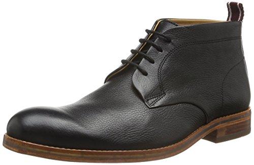 Hudson London Herren Lenin Calf Chukka Boots, Schwarz (Black), 41.5 EU