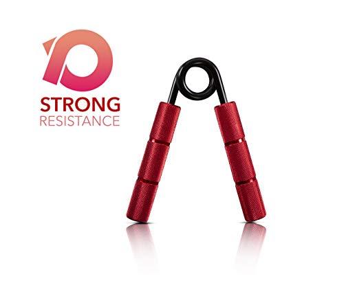 Powerball Griff-Stärkerer aus Metall (NEU) - Professioneller Grip Strengthener für Intensive Griffkraft, Muskeltraining und Rehabilitation