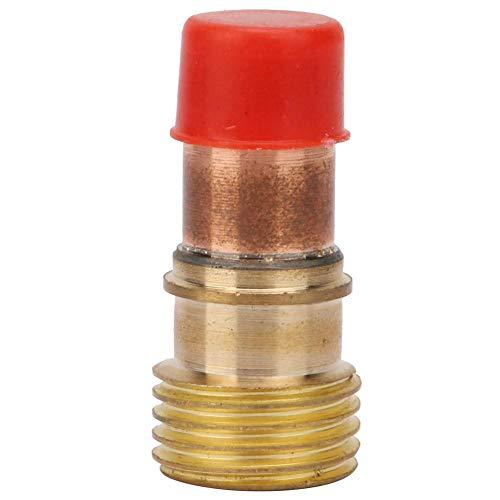 WP 18 Gaslinse 17GL Robust Leicht zu ersetzen Einfach zu bedienende Gaslinse, Schweißbrenner für Wp-18 Wassergekühlter Schweißbrenner(2.4MM aperture)