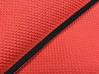 グロンドマン パッソーラ 国産シートカバー スベラーヌレッド タイプ:張替 仕様:黒パイピング パッソーラ