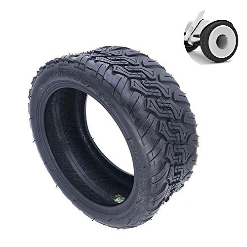 CHHD Neumáticos para patinetes eléctricos, neumáticos Todoterreno de vacío 85/65-6,5, ensanchados, Gruesos, sólidos, Antideslizantes, Resistentes al Desgaste, utilizados para reemplaz