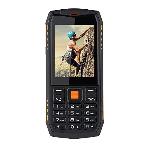 Teléfono inteligente para personas mayores, MFU A903S 3G 110-240V 2.8 pulgadas 2700mAh Cámara dual inalámbrica FM impermeable, 64 MB + 128 MB, linterna LED, teléfono móvil para personas mayores(EU)