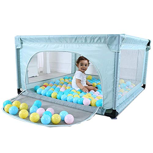 Buy Discount MWPO Baby Playpen Playpens Children's Games Extra Large Crawl Toddler Fence Indoor Safe...