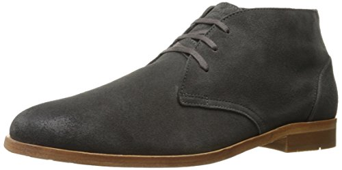 1883 by Wolverine Men's Marco Chukka Boot, Grey Suede, 8.5 M US