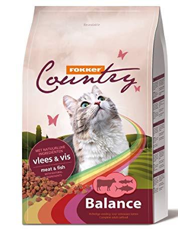 Fokker kat country balance vlees & vis kattenvoer 10 KG