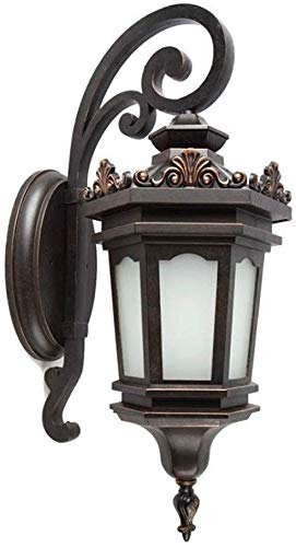 Mkj wandlampen hallampen spiegel lampen vooraan ganglampen buitenverlichting Europese wandlampen wandlampen gemaakt van aluminium klassieke traditionele E27 lamp