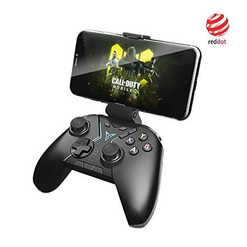 Flydigi Apex Wireless Controller, RGB Beleuchtung für Kriegsroboter Spiele Unterstützt Android, Tablet, TV-Box, PC, Steam-Gamepad, unterstützt nicht iOS 13.4