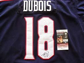Pierre -Luc Dubois Autographed Signed Columbus Blue Jackets Jersey (Size XL) JSA Cert Coa