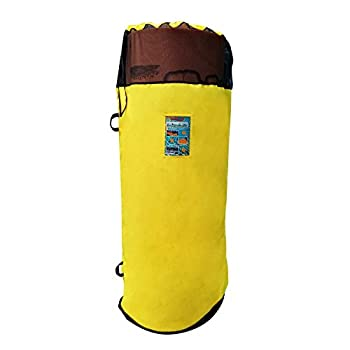 Aqua Lily Pad ACC-SB-XL-Y Nylon Storage Bag with Mesh Inserts and Mounting Hooks Fits 16 20 & 22 Foot Pads Yellow