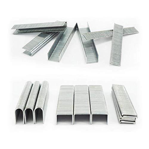 Grapas de acero inoxidable de 6,2/12 mm, rápido de alto rendimiento, tipo U/8000 unidades