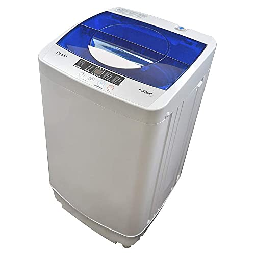Panda Portable Washing Machine, 10lbs Capacity, 10 Wash Programs, 2 built in rollers/casters,...