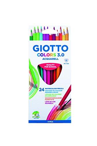 Giotto Colors 3.0 Aquarell - Pack de 24 lápices