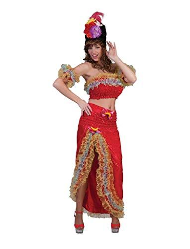 Brasilanische Lady Damenkostüm Samba Tänzerin Kostüm Copacabana Damen Sexy Karneval Fasching