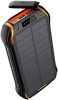 Waterproof Solar Wireless Charging Treasure 26800 MAh Type-c Mobile Power Bank,Portable Phone Charger For Smart Phones Tab...