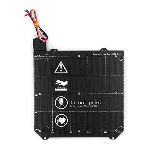 FYSETC Impresora 3D Piezas, MK3 MK52 Cama magnética climatizada y accesorios de carruaje...