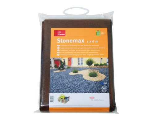 Plantex 4230795 Unkrautvlies Stonemax, 1 x 6 m