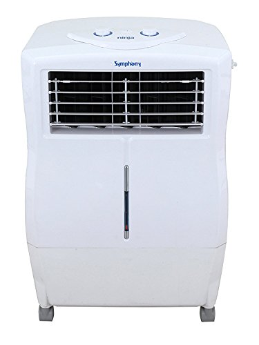 Symphony Ninja 17-Litre Air Cooler (White) - for Small Room