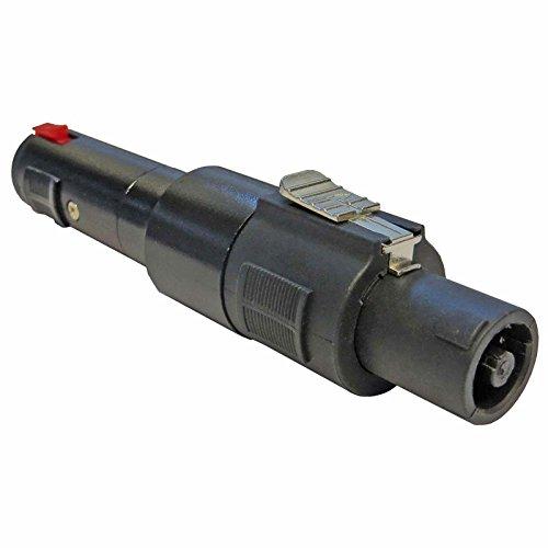 Keepdrum ADA037 Speakon Steckverbinder Klinken-Adapter Speakon-Stecker zu 6,35mm Klinkenbuchse