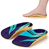 VALSOLE 3/4 Length Plantar Fasciitis & Arch Support Shoe Inserts Insoles for Men & Women – Best Original Orthotics for Flat Feet, Over-Pronation, High Arch//All-Day Relief Heel Spur Pain
