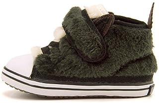 [コンバース] 女の子 男の子 ベビーシューズ スニーカー キッズ ベビー 子供靴 運動靴 通学靴 ベビー オールスター N AMファー V-1 ゴム紐 ストラップ EE BABY ALL STAR N AMFUR V-1 7CK514