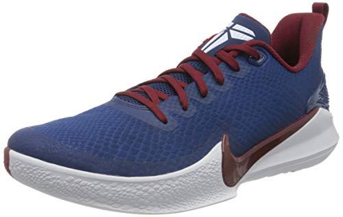 Nike Men's Basketball Shoes, Multicolour Coastal Blue Team Red White 400, US:5.5