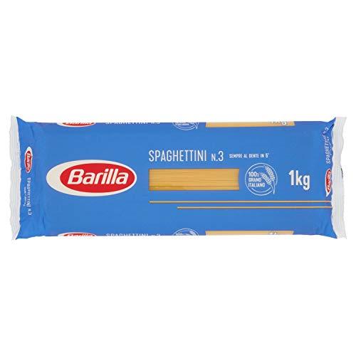 『バリラ スパゲッティ1.4mm(No.3)[正規輸入品] 1kg』のトップ画像